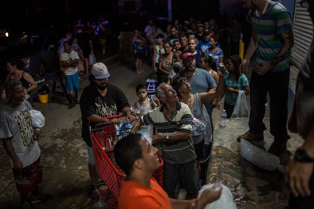 Puerto Rico, hurricane, people, government, response, aid, news