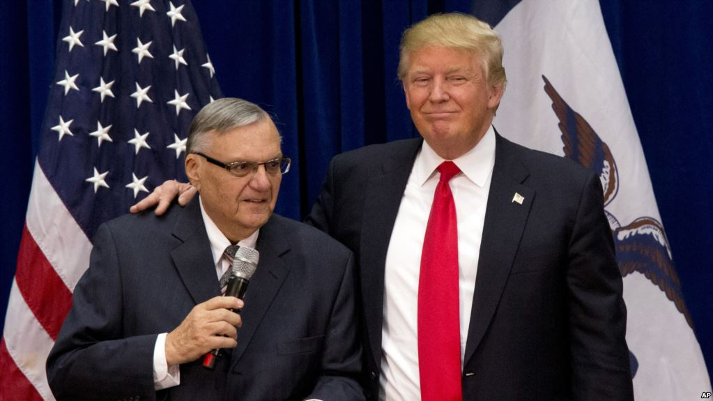 donald trump, joe arpaio, pardon, camps, illegal immigrants, undocumented, sheriff
