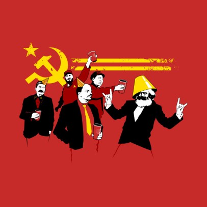 Communism, Communist, Socialist, Communist Party, t-shirt, Marx, Lenin, Castro, Mao, Stalin, trade, free trade, global trade, protectionism, free trade, pros and cons