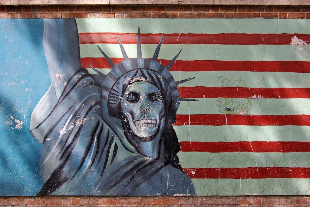 America, Death to America, Tehran, Hostage Crisis, Self loathing, Nationalism, Empire, Imperialism, Slavery, postmodernism