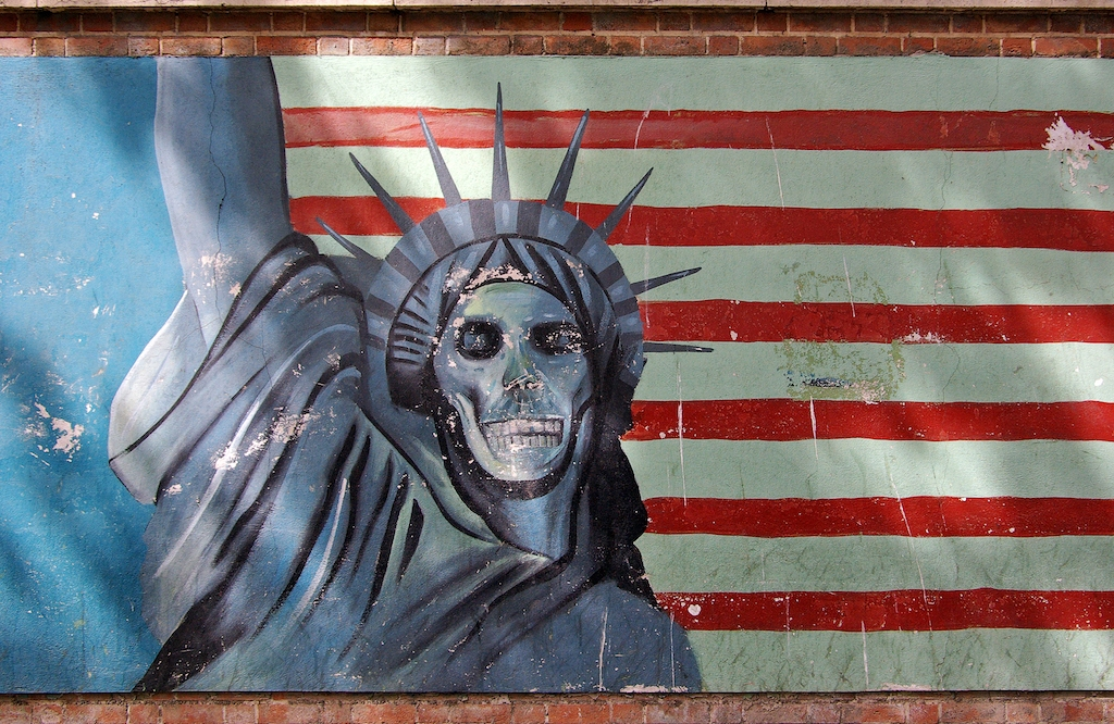 America, Death to America, Tehran, Hostage Crisis, Self loathing, Nationalism, Empire, Imperialism, Slavery, postmodernism