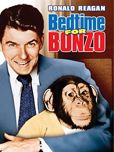 Ronald Reagan, President, World Order, Chimpanzee, Bedtime for Bonzo, Actor, Crony Capitalism, Post-WWII order
