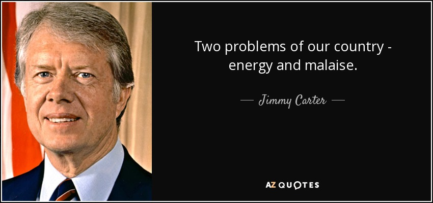 Jimmy Carter, Democrats, 1976, 1980, Ronald Reagan, stagflation, inflation, stagnation, 1970s, oil shocks, malaise