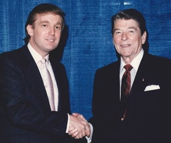 Donald Trump, Ronald Reagan, Make America Great Again, conservatism, nativism, racism, neoliberalism, neoconservatives, capitalism, greed, mental disease, alzheimer's, cold war, 2016, 1980, 1980s, reagan revolution