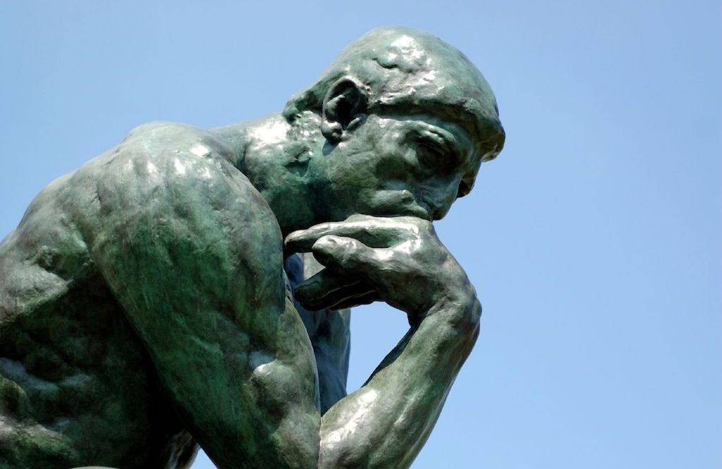 The Thinker, Brood, Wuhan, China, Writers Block, Princeton in Asia