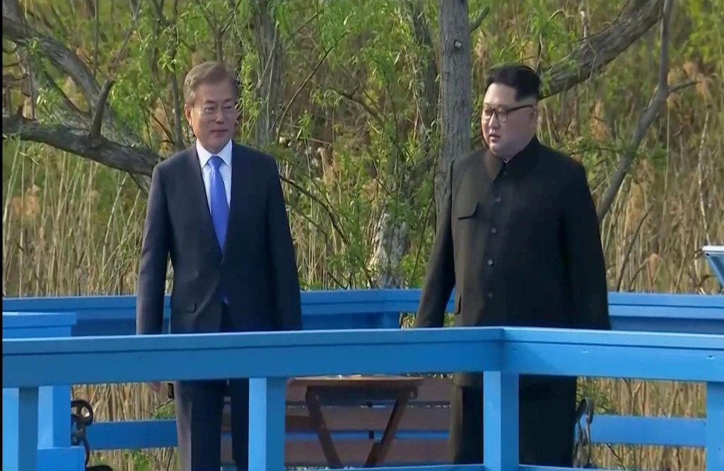 North Korea, South Korea, Moon Jae In, Kim Jong Un, Kim Family, America, US, USA, China, Xi Jinping, foreign, defense, military, war, peace, negotiations, Singapore, Korean Peninsula, future, geopolitics, politics, policy, President, Donald Trump, military exercises