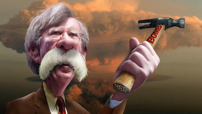 John Bolton, Iraq, Afghanistan, George W. Bush, Administration, War, North Korea, Nukes, Nuclear weapons, WMDs, Chemical weapons, Kim Jong Un, Trump, President, Foreign Policy, Neocon, bomb, conservative