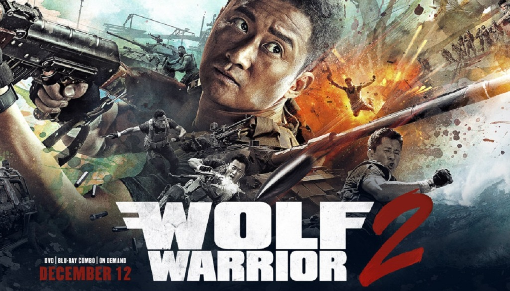 Wolf Warrior 2, 战狼儿, Wu Jing, Movies, Box Office, China, rising, superpower, United States, Africa, military, guns, tanks, action