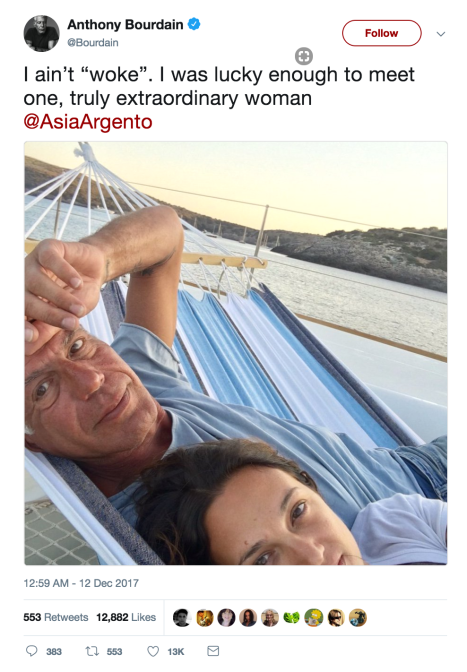 Bourdain, social justice, travel, essays, reflection, death, suicide, France, Cambodia, Henry Kissinger, Jacobin, Vox, #MeToo, Asia Argento, twitter, Anthony