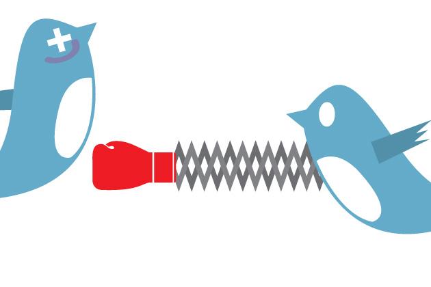Twitter, fights, rube, neoliberal shill, ignorant, kardashian, politics, woke, olympics