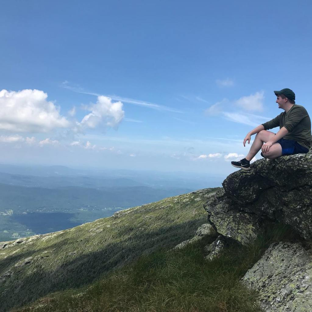 Vermont, hiking, China, reflection